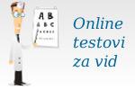 testovi za vid, testiranje vida, provjera vida