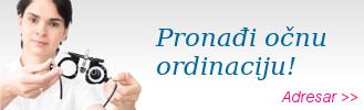 adresar-ocne-ordinacije, adresar očne poliklinike