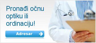 adresar optike i očne ordinacije, popis optika, lista oftalmologa