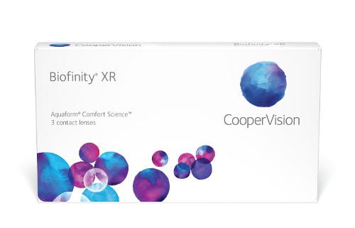 Biofinity XR, meke leće za visoku dioptriju