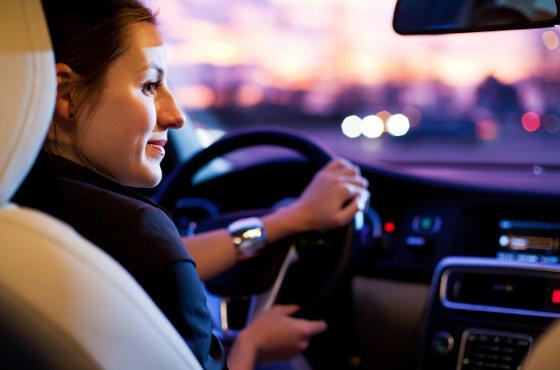 zabljestenje kod nocne voznje, vid kod noćne vožnje
