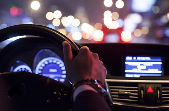 zablještenje kod vožnje, vid kod noćne vožnje