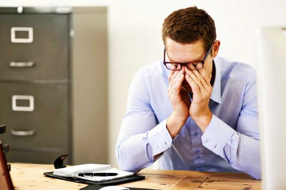 bol u predjelu oka zbog računala