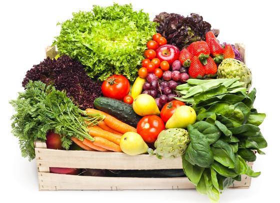 Voće i povrće - namirnice za oči