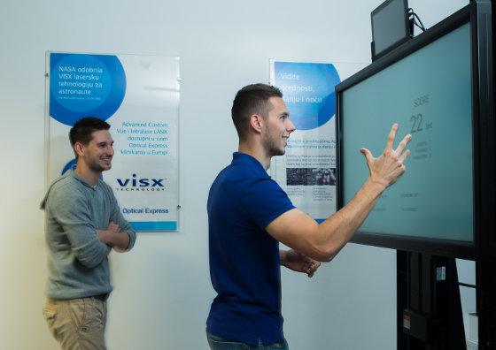 Sport vision centar Optical Express