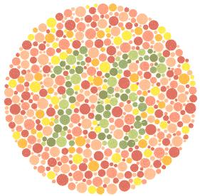 test vida boje, daltonizam test