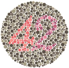 ishihara testovi daltonizam