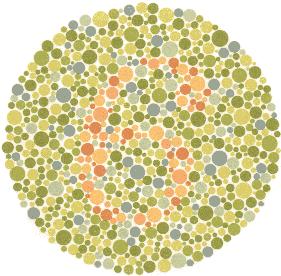 test za boje, test vida boje