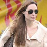Angelina Jolie nosi sunčane naočale Dolce Gabbana DG2106K 1027/58