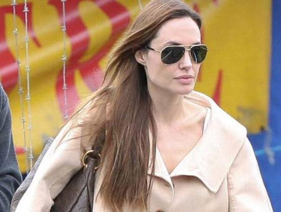 Angelina Jolie, sunčane naočale, dolce gabbana