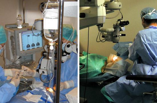Očna poliklinika Opto Centar, operacijska sala