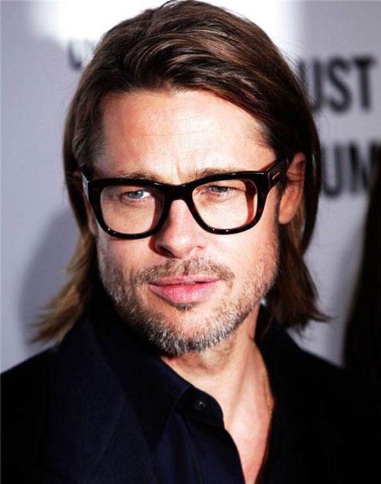 brad pitt naočale, brad pitt dioptrijski okviri