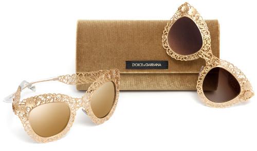 Dolce&Gabbana naočale - kolekcija filigrama