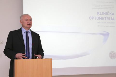 dr. Branimir Cerovski, klinička optometrija knjiga