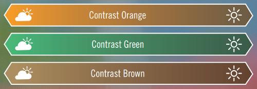 Rodenstock leće za sunce kontrast boje