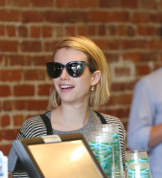 Emma Roberts naočale