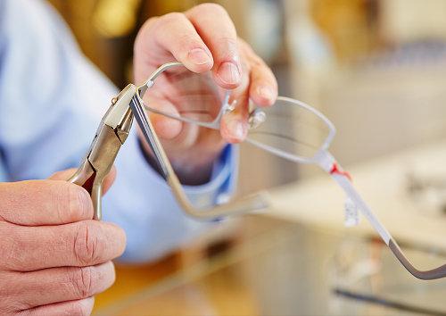 kako popraviti naočale, popravak naočala
