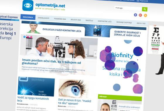 redizajn optometrija.net, optometrija net novi dizajn