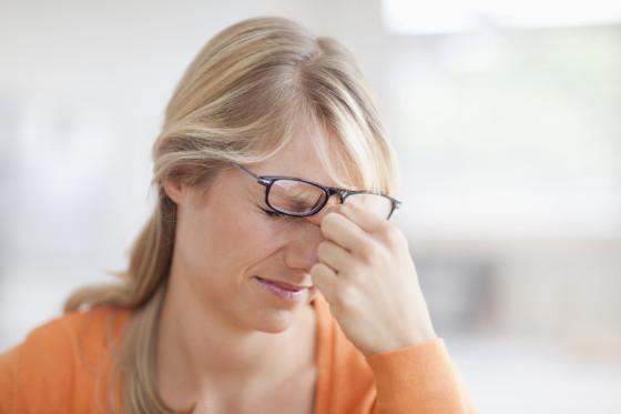 bolovi u ocima, bol iza oka
