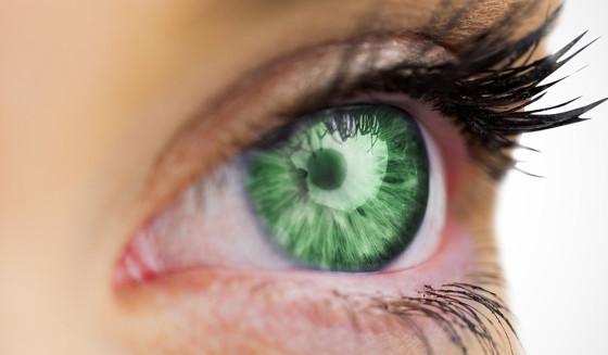Zelene oči