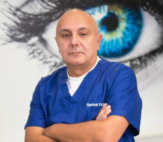 Optical Express dr. Dean Saric, oftalmolog